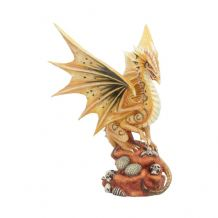 ADULT DESERT DRAGON FIGURINE